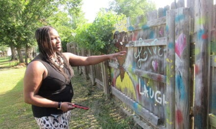 How One Woman is Using Back-Yard Creativity to Spread Love