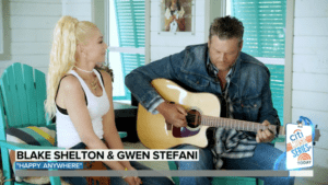 Blake Shelton and Gwen Stefani Perform Duet 'Happy Anywhere\' on TODAY