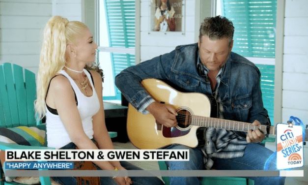 #ShineBuzz – Blake Shelton and Gwen Stefani Prove Step-Families CAN Be Healthy
